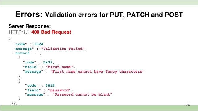 Service approach for development Rest API in Symfony2
