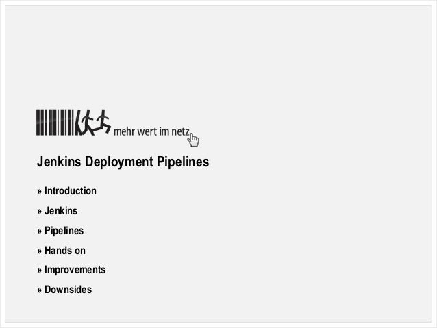 0Nicole Cordes, SymfonyCon Berlin 2016, Jenkins Deployment Pipelines Jenkins Deployment Pipelines » Introduction » Jenkins...
