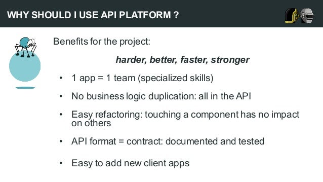 A high profile project with Symfony and API Platform: beIN