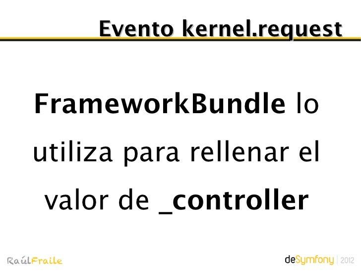 ControllerResolverEncargado de devolver uncontrolador + argumentos a partir de _controller