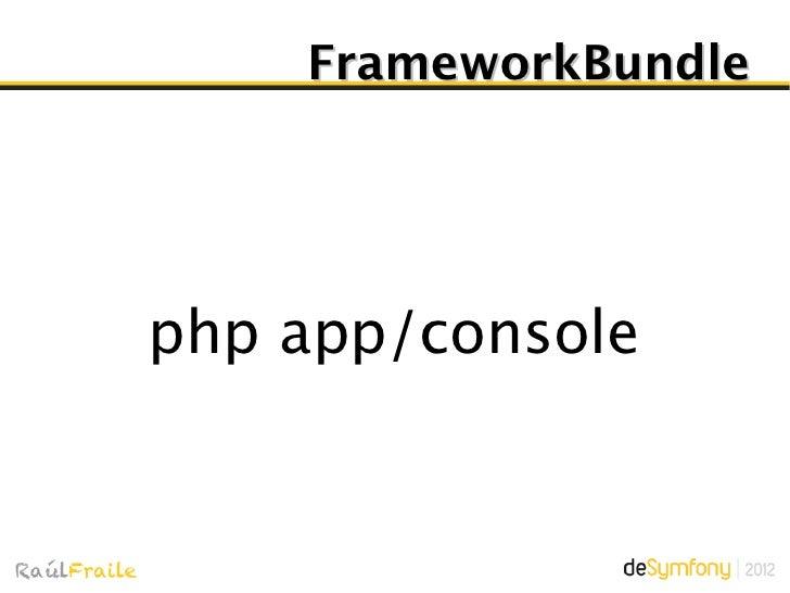 FrameworkBundleController