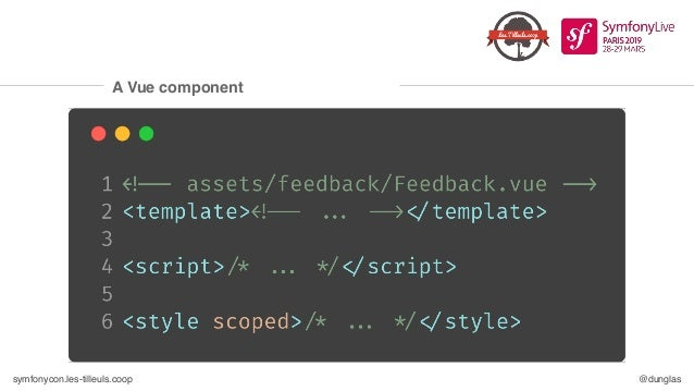 symfonycon.les-tilleuls.coop @dunglas Symfony Panther: an E2E testing tool ❏ Executes real web browsers (Chrome by default...