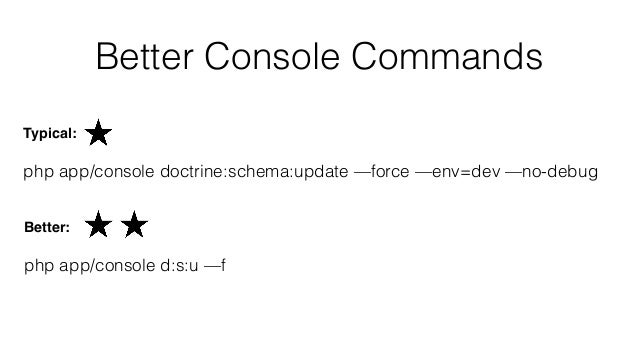 Dev Console Commands