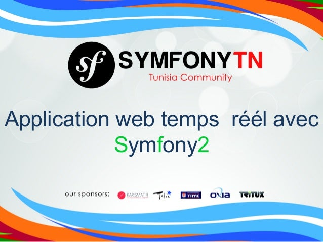 Application web temps réél avec Symfony2