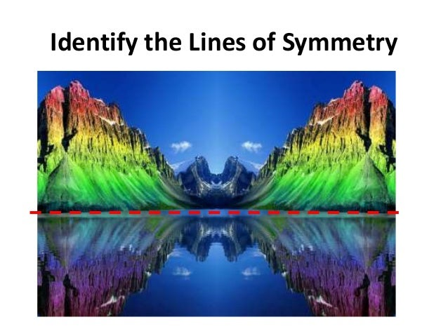 Drawing Lines Of Symmetry On Shapes Worksheet : Symmetry lines reflection rotation