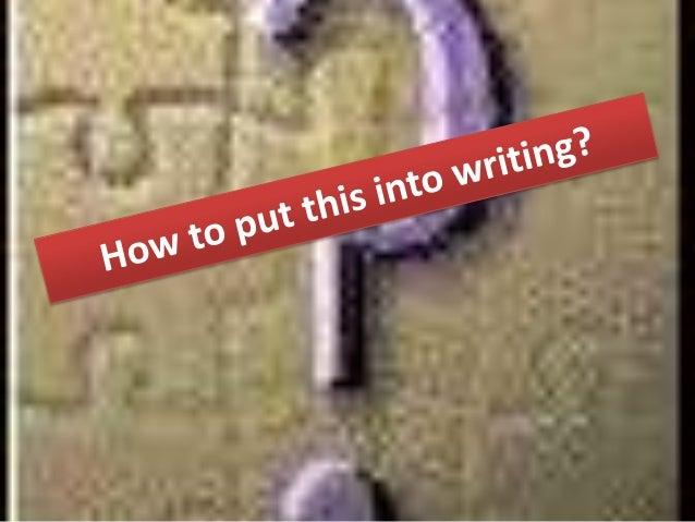 How to write empathy