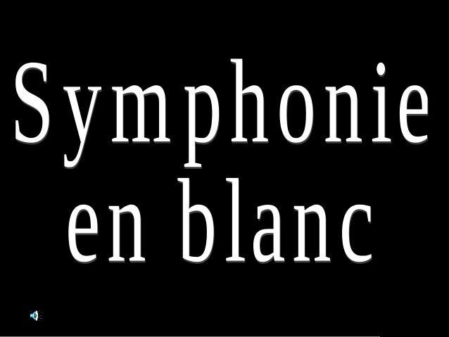 Symphonie en blanc1