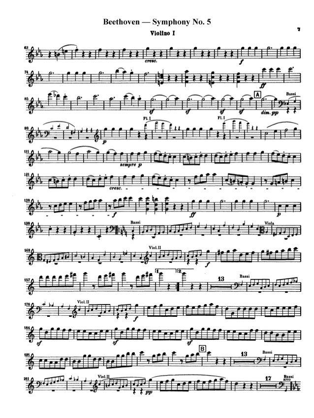 Beethoven symphony no 5 i   Custom paper Sample - June 2019 - 1852 words