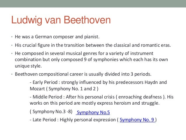 the career and rise of ludwig van beethoven to fame Some of the most well known composers came to be in the in the classical music period ludwig van beethoven was one of the composers, along with other greats of the.