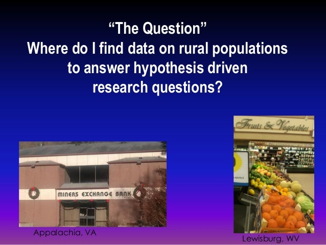 Research Data Sources  Slide 2