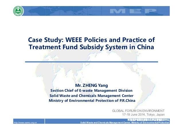 环境保护部固体废物与化学品管理技术中心 Solid Waste and Chemicals Management Center, Ministry of Environmental Protectionhttp://www.swmc.org.c...