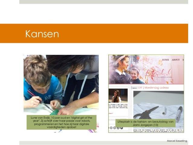 """Marcel Kesselring  Kansen  Lune van Ewijk, 10 jaar oud en """"digital girl of the  year"""". Zij schrijft over haar passie voor ..."""