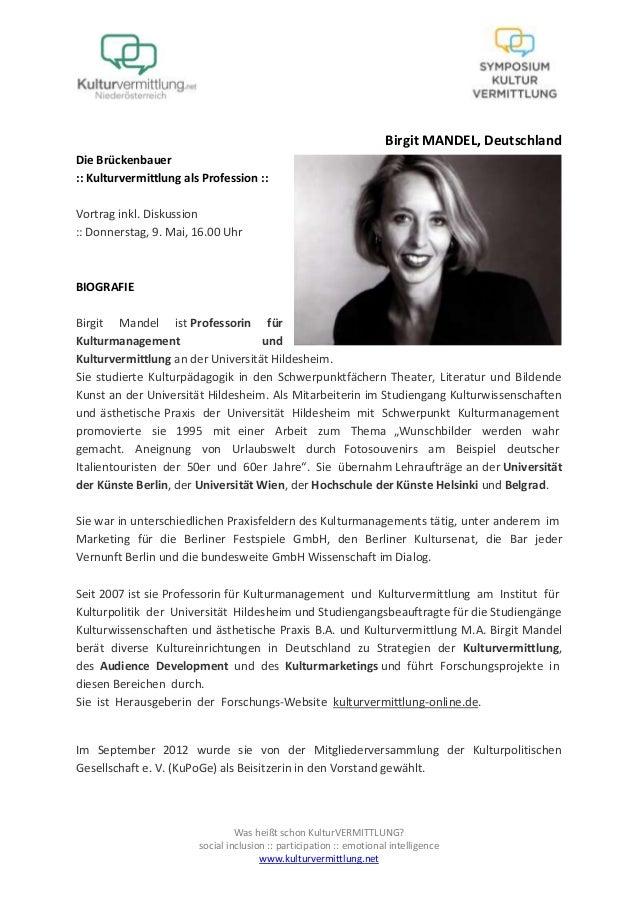 Was heißt schon KulturVERMITTLUNG?social inclusion :: participation :: emotional intelligencewww.kulturvermittlung.netBirg...