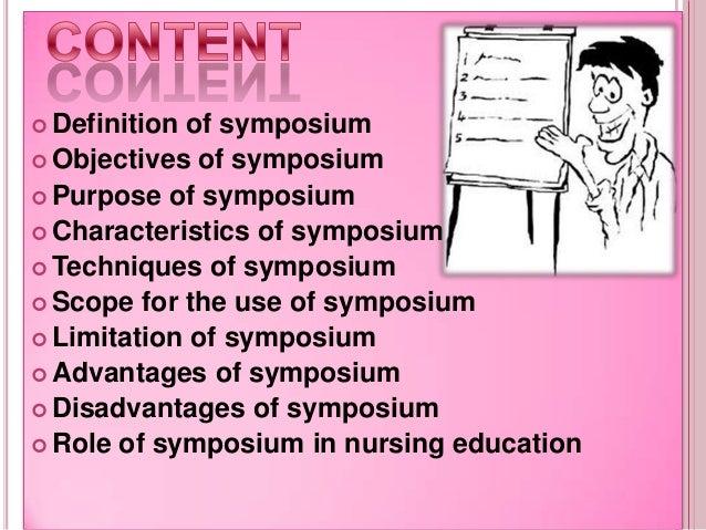 Symposium  Slide 3