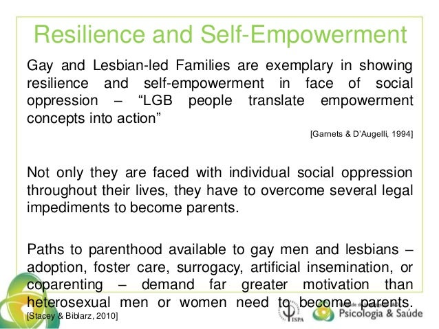Issues for Lesbian- and Gay-Parented Families