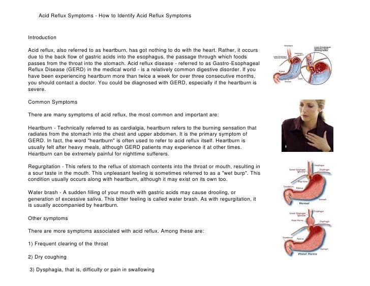 acid reflux symptoms how to identify acid reflux symptoms article, Skeleton