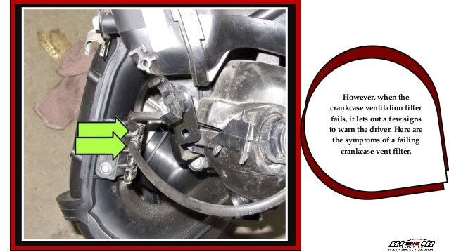 Symptoms of a Failing Crankcase Vent Filter