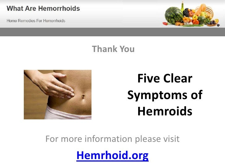 Know The 5 Clear Symptoms Of Hemroids