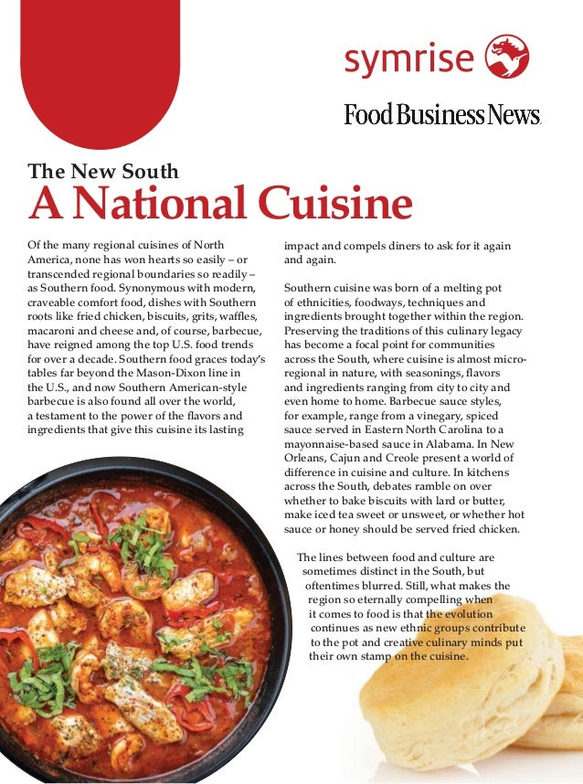 Of the many regional cuisines of North America, none has won hearts so easily – or transcended regional boundaries so read...