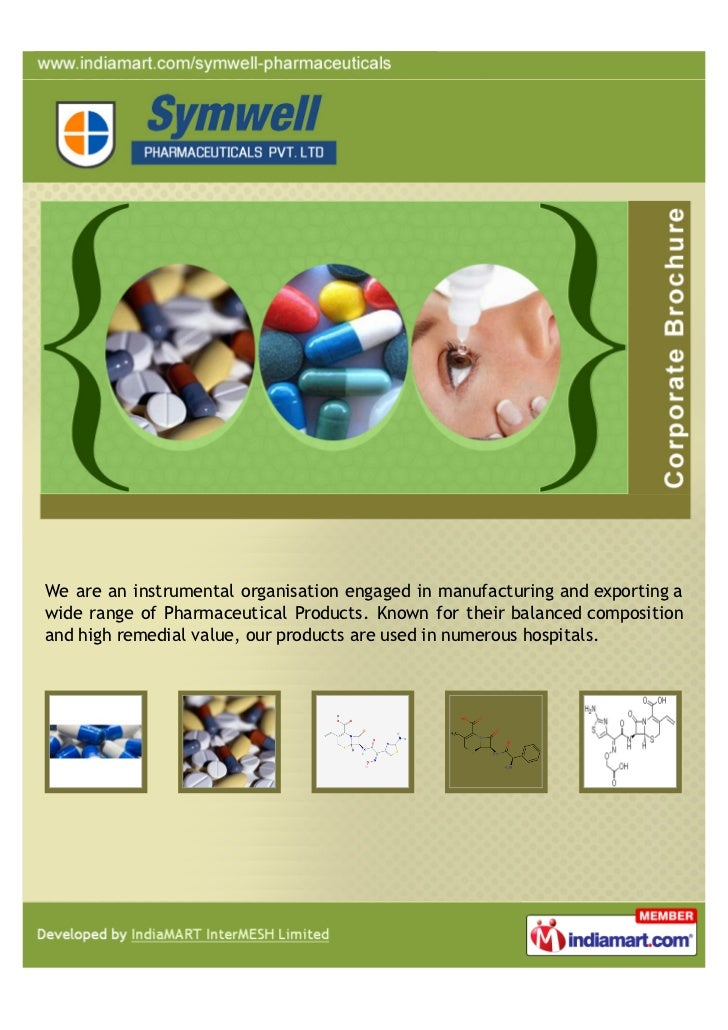 We are an instrumental organisation engaged in manufacturing and exporting awide range of Pharmaceutical Products. Known f...