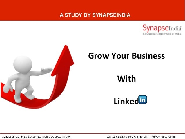 A STUDY BY SYNAPSEINDIA                                                     Grow Your Business                            ...