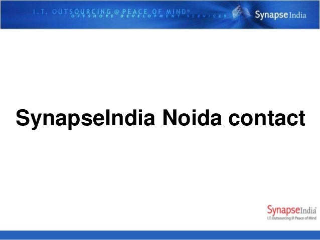 SynapseIndia Noida contact