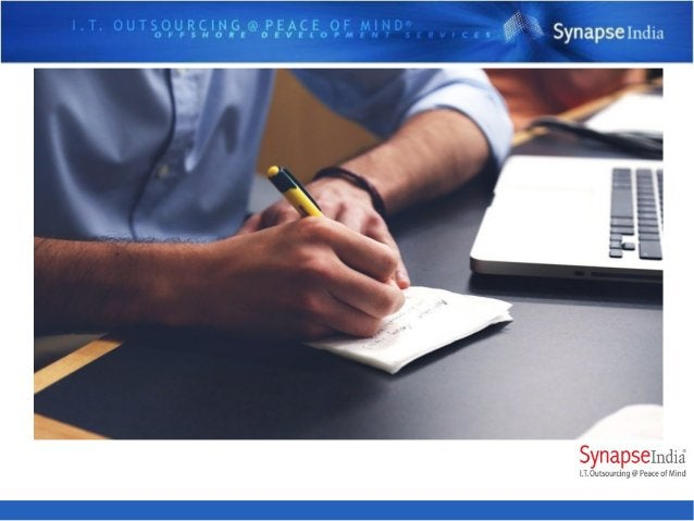 SynapseIndia Noida - Services Offered Founded in year 2000, 16 year old IT company SynapseIndia has a dedicated team of ar...