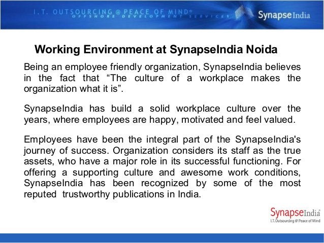 Read more about information about SynapseIndia Noida Office at below links https://www.facebook.com/SynapseIndiaJobsNoida/...