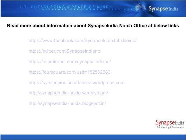 SynapseIndia Noida presence