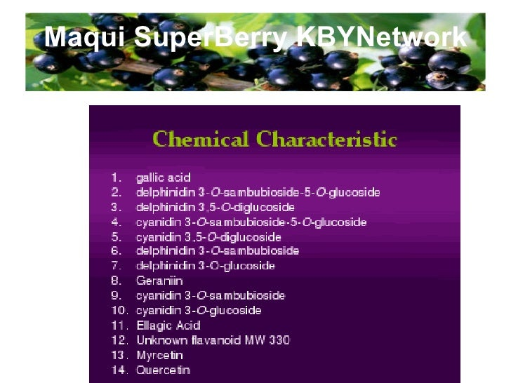 Maqui SuperBerry KBYNetwork Certificate of Free Sale, Dept of Health and  Human Services,  FDA, USA