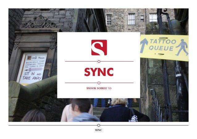 SYNC SYNC SNOOK SOIREE '13