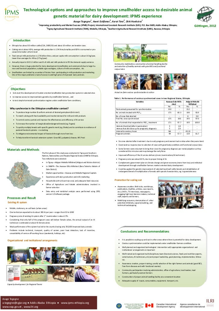 Technological options and approaches to improve smallholder access to desirable animal                                    ...