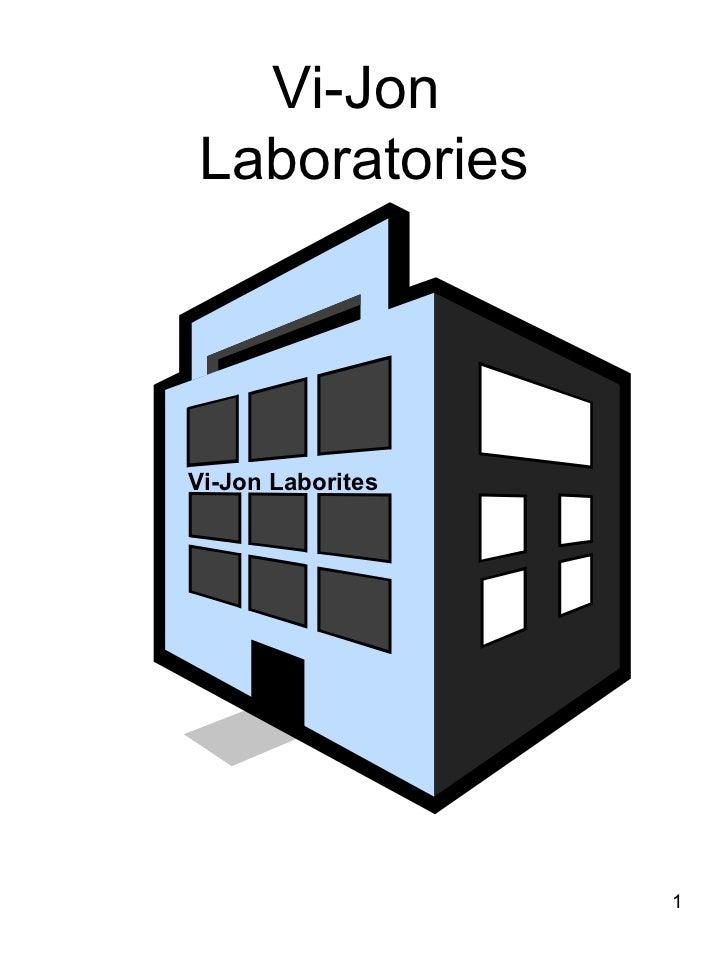 Vi-Jon  Laboratories Vi-Jon Laborites