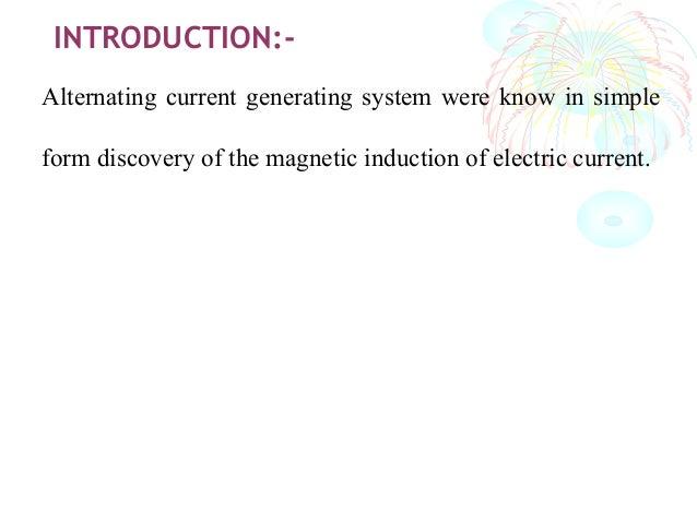 Synchronous generator  by pankaj chaudhary Slide 3