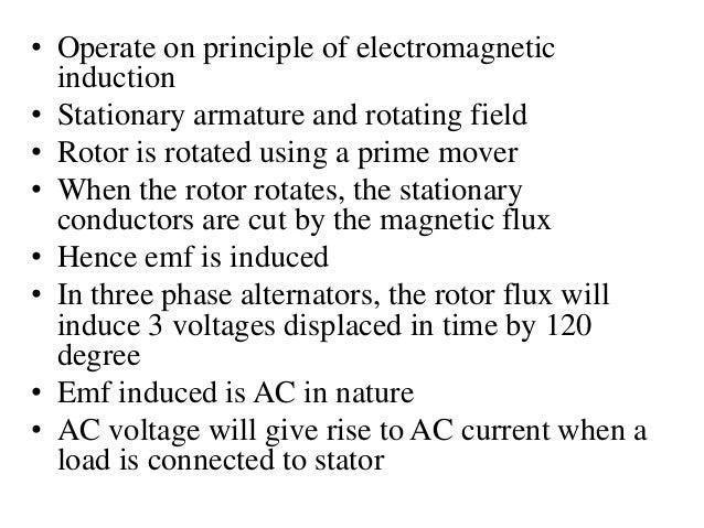Synchronous generators Slide 3