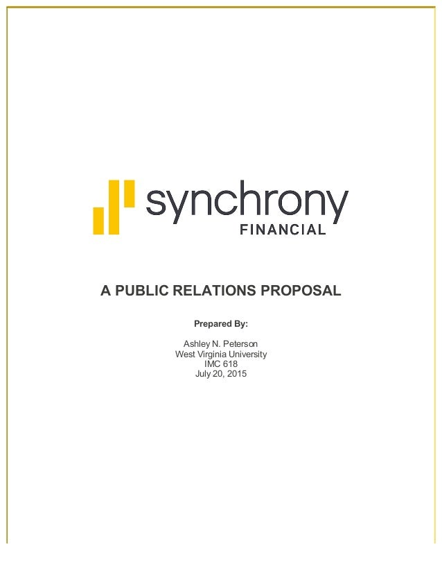 fa4d53014ec07 Synchrony Financial Business Leadership Program - PR Proposal (July 2015)