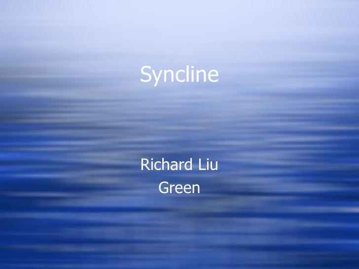 Syncline Richard Liu Green