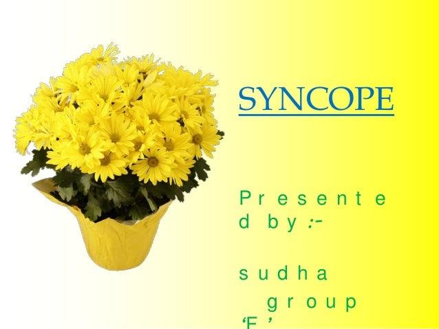 Syncope Slide 2