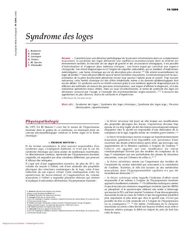 19-1590                Encyclopédie Médico-Chirurgicale 19-1590 (2004)                                                    ...