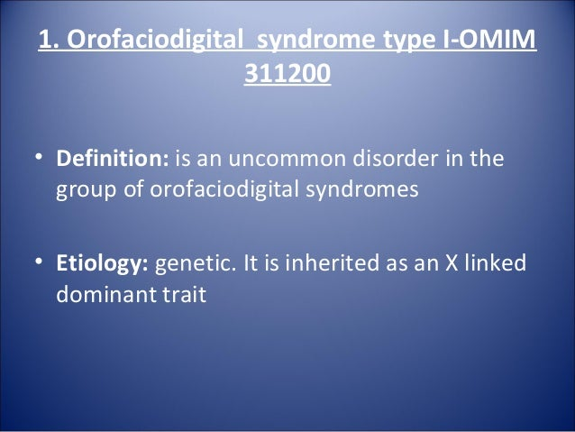 joubert syndrome with orofaciodigital defects Joubert syndrome neonatology a condition characterized by episodic hyperpnea, abnormal eye movements, ataxia, and mental retardation linked.