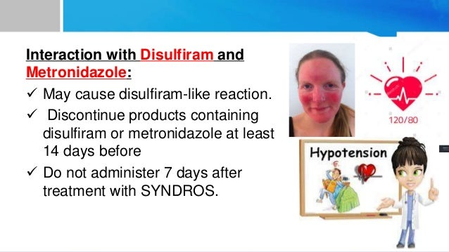 disulfiram like reaction