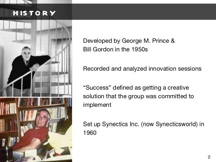 Synectics Presentation Slide 2