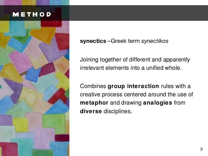 Synectics Presentation Slide 3
