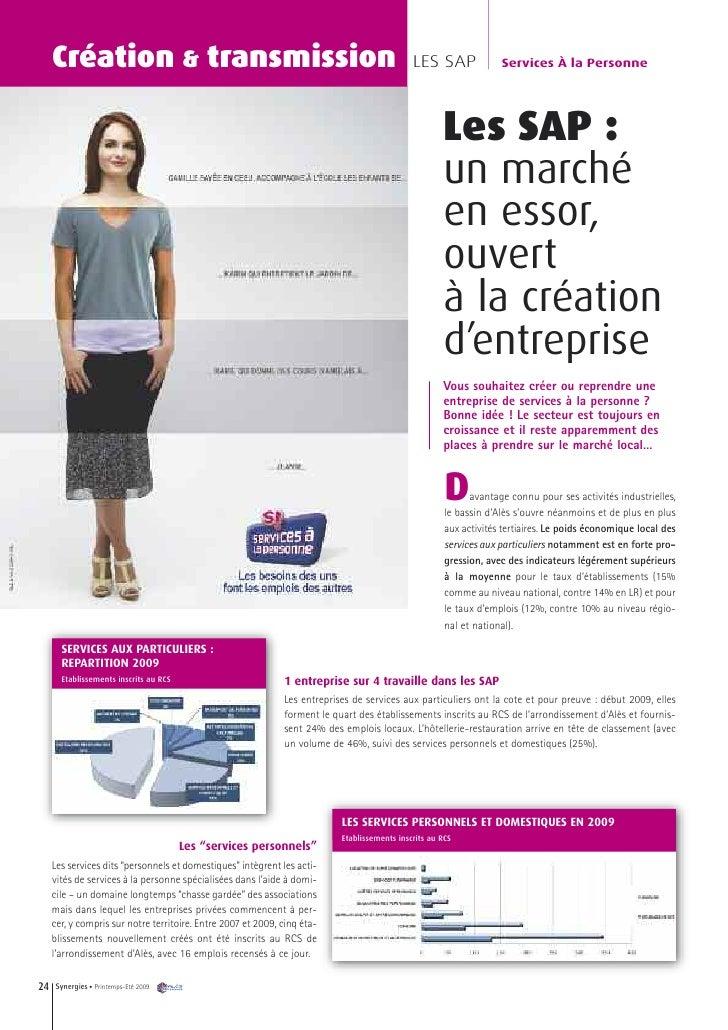 Création & transmission                                                                  LES SAP               Services À ...