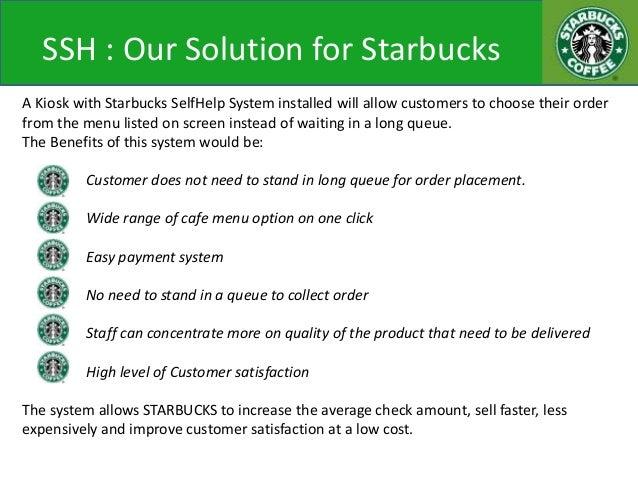 Starbucks Selfhelp System Kiosk System