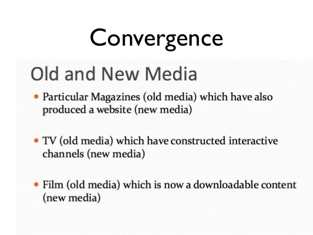 week 2 media convergence For more classes visit wwwhum176papercom resources: week two readings and videos answer all sections of the university of phoenix material: media convergence worksheet.