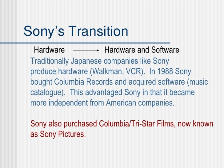 sony columbia pictures lessons from a cross border acquisition The acquisition remains subject to one outstanding precondition, being the approval of the uk secretary of state for digital, cuture, media and sport on july 10th 2018, the secretary of state stated that he intended to announce.