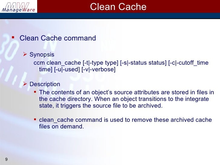 By Photo Congress    Ccmclean Command Line Switches