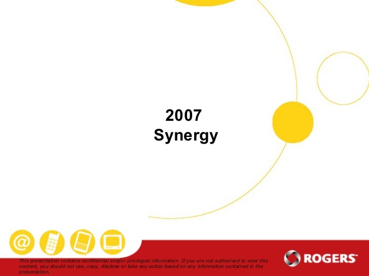 2007  Synergy