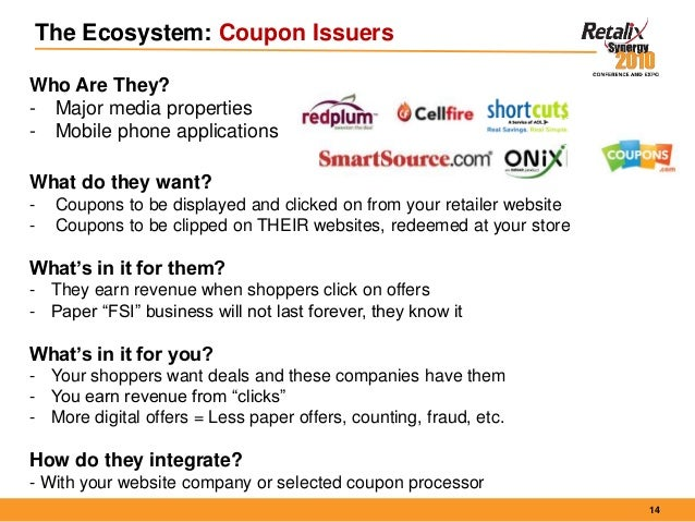 Why coupons